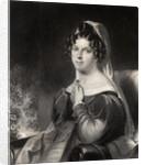 Felicia Dorothea Hemans by William Edward West