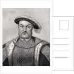 Henry VIII by English School