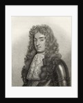 King James II by English School