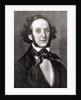 Felix Mendelssohn by Eduard Magnus