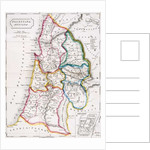 Map of Palestine, Palestina Antiqua by English School