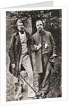 John Ruskin and Dante Gabriel Rossetti by Anonymous