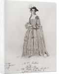 Madame Vestris, Lucia Elizabeth (or Elizabetta) Bartolozzi by Anonymous
