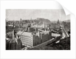 A view of Edinburgh in 1842 by Anonymous