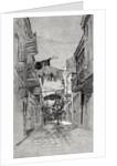 Exchange Alley looking toward Canal Street, New Orleans by American School