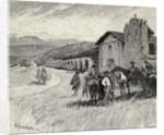 Mission Santa Ynez or Ines, Solvang, California by Henry Sandham