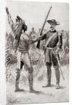 A Civil War scene in Little Rock, Arkansas by Anonymous