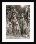 An elaborately decorated mortuary shrine on one of the Solomon Islands by Anonymous