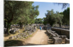 Entrance leading to stadium where athletic events were held, Olympia, Peloponnese by Anonymous