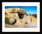 Entrance to the La Menga Dolmen, Antequera by Anonymous