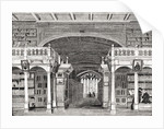 Interior of the Bodleian Library by English School
