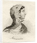 Alexander the Great by English School