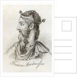 Frederick I Barbarossa by English School