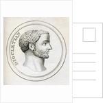 Emperor Diocletian by English School