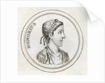 Flavius Honorius by English School