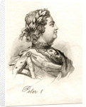 Peter the Great by English School