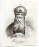 Rudolph I of Germany by English School