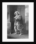 Edmund Kean in Richard the Third, Act IV, Scene IV, by William Shakespeare engraved by C. Turnerby by John James Halls