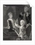 Wolfgang Amadeus Mozart as a child by Unknown