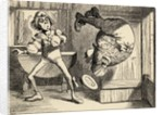 Father William does a back somersault by John Tenniel