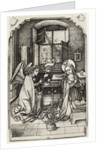 The Annunciation by Wenzel or Wenceslaus von Olmutz