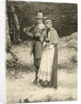 Puritan couple on their way to Sunday worship by George Henry Boughton