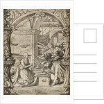The Annunciation by Hans Holbein The Younger