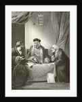 King Henry VII of England with Sir Richard Empson and Edmund Dudley by English School