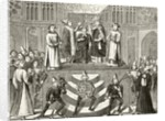 Coronation of King Henry IV of England by English School