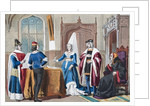 English costumes from the late 15th century by English School