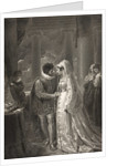A room in Portia's house, Act III, Scene II by from The Boydell Shakespeare Gallery