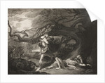 The Forest, The Rescue of Oliver, Act II, Scene VII by from The Boydell Shakespeare Gallery