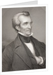 James Knox Polk by English School