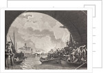The Great Fire of London, 1666 by English School