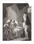 Henry IV reproving Prince Henry by English School