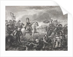 King William III at the Battle of the Boyne, 1690 by English School