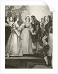 King Charles II of England meeting his sister Duchess Henrietta of Orleans at Dover in 1670 by English School