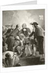 William III of Orange landing in Brixham with his Dutch army on by English School