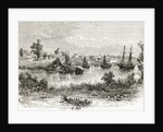 Melbourne, 1840 by English School
