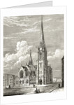 Christ Church, Westminster Bridge Road, Lambeth by English School