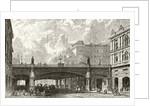 Holborn Viaduct by English School