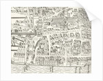 London around St. Paul's in 1563 by English School