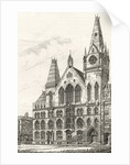 The Memorial Hall, Farringdon Street by English School