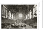 The Great Hall of the Middle Temple by English School
