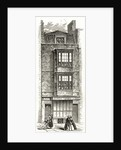 John Milton's house in the Barbican by English School