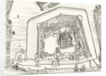 Bird's Eye View of the Tower of London in 1688 by English School