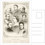 The Royal Family of Queen Victoria by English School