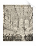Interior of the House of Lords by English School