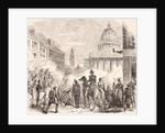 Incident near the Pantheon, Paris, during the French workers' revolt June 23-25, 1848 by English School