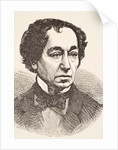 Benjamin Disraeli by English School